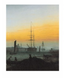 Caspar David Friedrich, Der Greifswalder Hafen