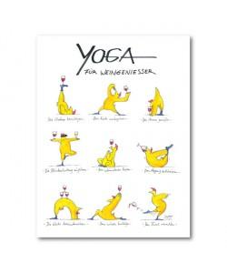Peter Gaymann, Yoga für Weingenießer