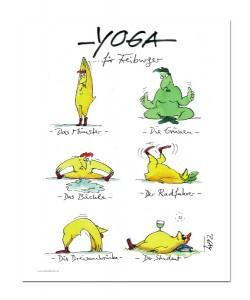 Peter Gaymann, Yoga für Freiburger