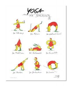 Peter Gaymann, Yoga für Schweizer