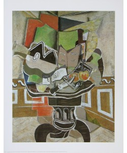 Georges Braque, Der runde Tisch (Le Grand Gueridon)