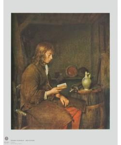 Gerard TerBorch, Der Lesende