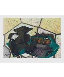 Georges Braque, Die grüne Tischdecke