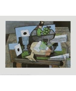 Georges Braque, Stilleben mit Weintrauben und Klarinette