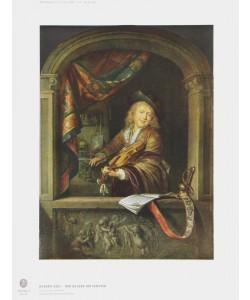 Gerard Dou, Der Geiger am Fenster