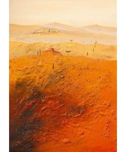 Gerner Bernhard, Mediterrane Landschaft 1