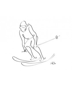 Gholam Reza Mahdavi  Skier