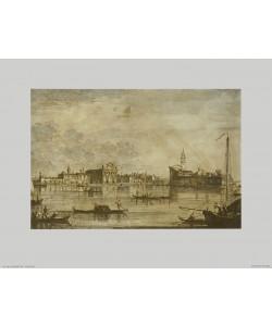 Giovanni Antonio Canaletto, Ansicht des Hauptkanals von Murano