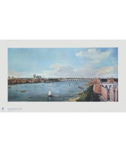 Giovanni Antonio Canaletto, London mit Themse