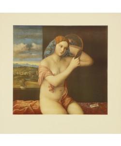 Giovanni Bellini, Eine junge Frau ordnet ihre Haare