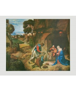Giorgio Giorgione, Die Anbetung der Hirten