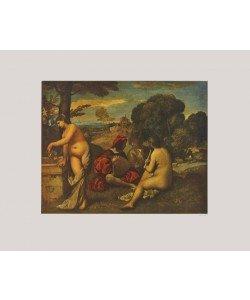 Giorgio Giorgione, Ländliches Konzert (Kleinformat)