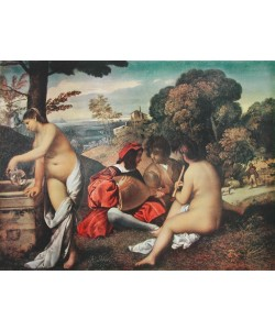 Giorgio Giorgione, Ländliches Konzert