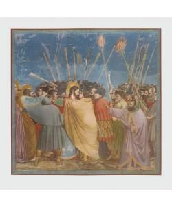 Giotto, Gefangennahme Christi (Der Judas-Kuss)
