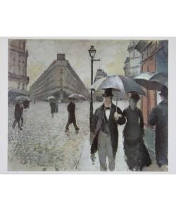 Gustave Caillebotte, Ein Regentag in Paris, 1877