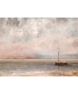 Gustave Courbet  Wolken am Genfer See