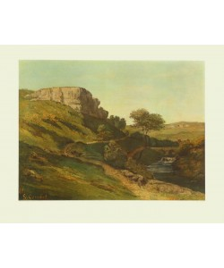 Gustave Courbet, Jura-Landschaft bei Ornans