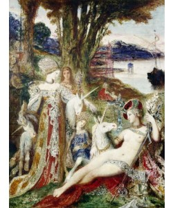 Gustave Moreau, Die Einhörner