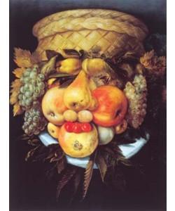 Giuseppe Arcimboldo, Portrait eines Mannes