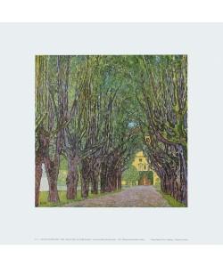 Gustav Klimt, Allee im Park vor Schloss Kammer am Attersee, 1912