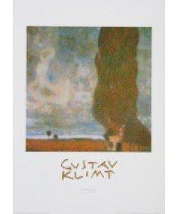 Gustav Klimt, Aufziehendes Gewitter - Die große Pappel, 1903