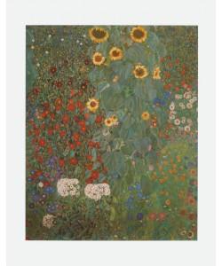 Gustav Klimt, Bauerngarten mit Sonnenblumen (Ausschnitt), um 1905