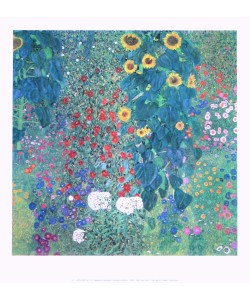 Gustav Klimt, Bauerngarten mit Sonnenblumen