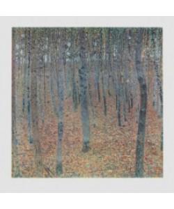 Gustav Klimt, Buchenwald (Bütten) (Büttenpapier)