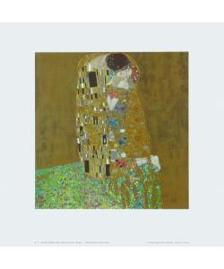 Gustav Klimt, Der Kuss - 1907/08