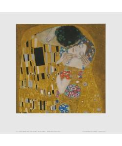 Gustav Klimt, Der Kuss (Detail) - 1907/08