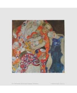 Gustav Klimt, Die Braut (Detail) - 1917/18