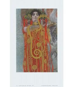 Gustav Klimt, Hygieia (Detail aus Medizin) - 1907