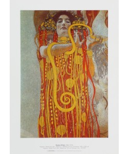 Gustav Klimt, Hygieia - Detail