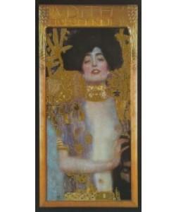 Gustav Klimt, Judith I, 1901 (mit Folienprägung)