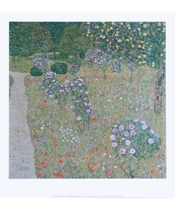 Gustav Klimt, Obstgarten mit Rosen - 1911/12
