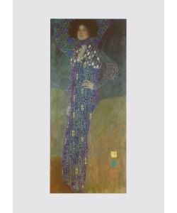 Gustav Klimt, Portrait von Emilie Flöge, 1902