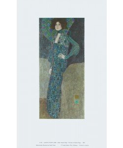 Gustav Klimt, Portrait von Emilie Flöge - 1902
