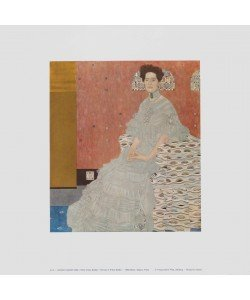 Gustav Klimt, Portrait von Fritza Riedler