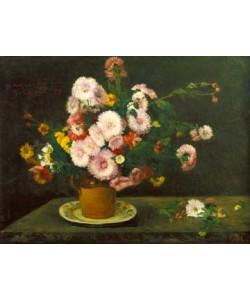 Gustave Courbet, Asternstrauß