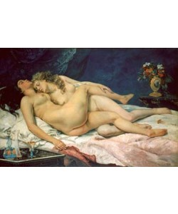 Gustave Courbet  Le sommeil