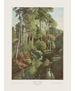 Gustave Courbet, Waldbach mit Rehen