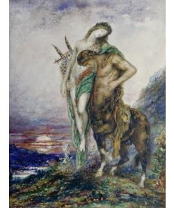 Gustave Moreau, Von einem Zentaur getragener Dichter