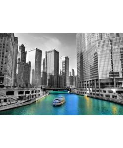 Hady Khandani, COLORSPOT - CHICAGO RIVER - USA
