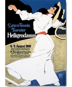 Hans Rudi Erdt, Lawn-Tennis Turnier