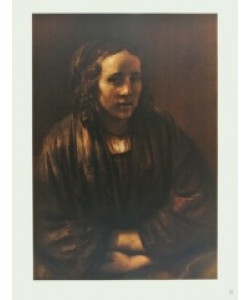 Harmensz. van Rijn Rembrandt, Hendrikje Stoffels (Kupfertiefdruck)