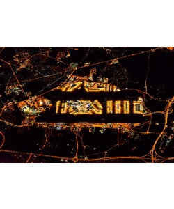 Hady Khandani, 20131024 073705 AERIAL LONDON HEATHROW BY NIGHT EGLL