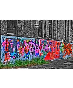 Hady Khandani, COLORSPOT grafitti in industrial ruin Okriftel Germany