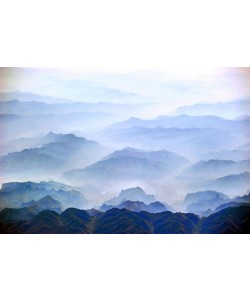 Hady Khandani, GEO ART - MORNING FOG OVER TAIHANG SHAN - CHINA 3