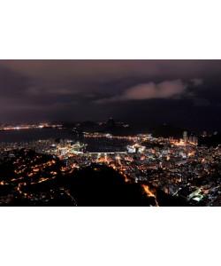 Hady Khandani, NIGHTLY VIEW OVER RIO DE JANEIRO