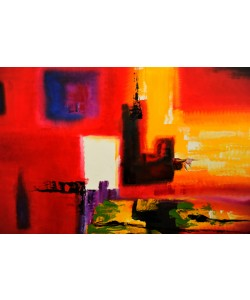 Hady Khandani, PAINTING - ABSTRACT 5